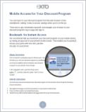 Mobile Access for Your Discount Program_T